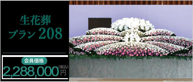 生花葬プラン208